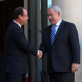 Netanyahu and Hollande Photo: GPO