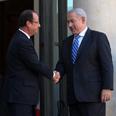 Netanyahu and Hollande Photo: GPO