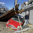 Damage from Sandy in New York Photo: AP