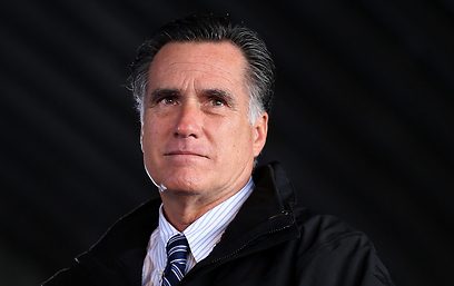 Mitt Romney. On final campaign lap (Photo: AFP)