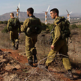 IDF soldiers in Golan Heights Photo: Reuters