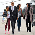 Obama family returns to White House Photo: AFP