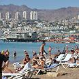 Eilat badly affected by operation Photo: Meir Ohayon