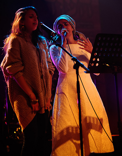 אנקרי ובתה. הדור הבא (צילום : עמרי בראל)