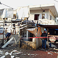 Damaged Netivot home Photo: Eliad Levy