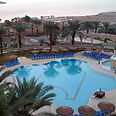 Dead Sea hotel. 24% decline in tourist stays (archives) Photo: Avshalom Levy