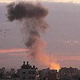 IDF strike in Gaza Photo: IDF strike in Gaza