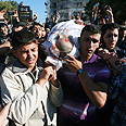 Jabari's funeral in Gaza Photo: Reuters