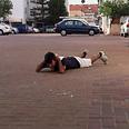 Taking cover in community of Bnei Ayish Photo: Ron Benisho
