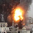 Hamas building bombed Photo: Reuters