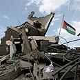 'Destroying Gaza government institutions is indicative of a basic flaw.' Hamas PM's office Photo: EPA