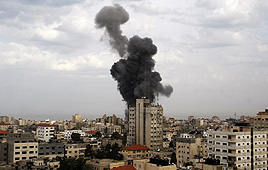 Gaza hits Photo: AP