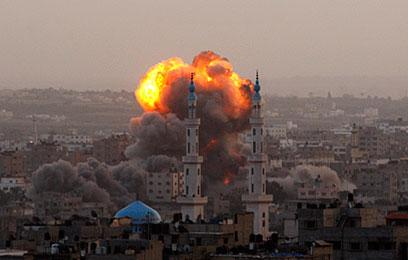 IDF bombing, Operation Pillar of Defense (Photo: AP)