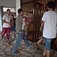 Israelis run into bomb shelter in Tel Aviv (archives) Photo: AP