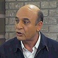 MK Shaul Mofaz at Ynet studio 