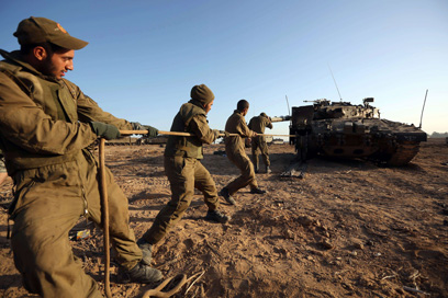 IDF reservists. Illustration (Photo: AFP)