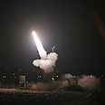 Iron Dome in action Photo: Dan Davide