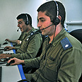 Battery's operating crew Photo: IDF Spokesperson's Unit