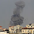 Strikes in Gaza Photo: Reuters