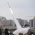 Iron Dome at work Photo: Reuters