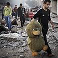 Gaza during Operation Pillar of Defense Photo: EPA