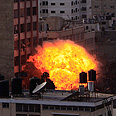 IDF strike in Gaza during Operation Pillar of Defense Photo: EPA