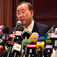 UN's Ban Ki-moon Photo: AFP