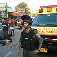 Security forces in Ashdod Photo: Ido Erez