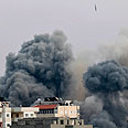 IAF strike in Gaza Photo: Reuters