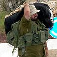 Reservist goes home Photo: Roi Idan