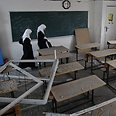 Palestinians return to school Photo: Reuters