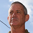 IDF Chief of Staff Lieutenant General Benny Gantz Photo: Shaul Golan