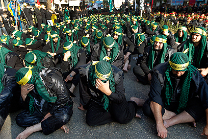 Hezbollah rally in Beirut (Photo: Reuters)