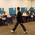 Voter in Tel Aviv Photo: Motti Kimchi