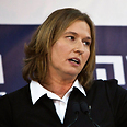 Livni. May create an alternative to government's policy Photo: Reuters