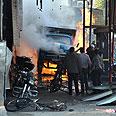 Bombing in Damascus Photo: AP