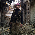 Rebel in Aleppo Photo: Reuters