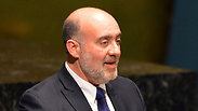Israel's ambassador to the UN Ron Prosor Photo: AFP