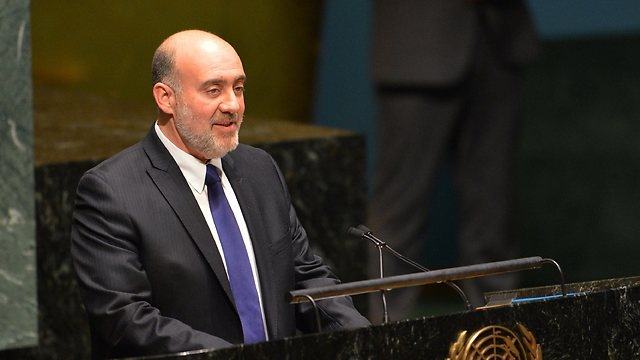 Ron Prosor slams UN's International Year of Solidarity with Palestinians. Archive (Photo: AFP)
