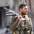 Syrian rebel in Aleppo Photo: Reuters