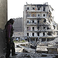 Aleppo in ruins Photo: Reuters