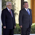 Abbas and King Abdullah Photo: AFP