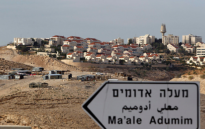 More construction in Ma'ale Adumin? (Photo: Reuters)