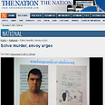 Moshe David photo on local Thai news