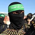 Hamas terrorist Photo: Reuters