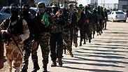 Hamas forces Photo: Reuters