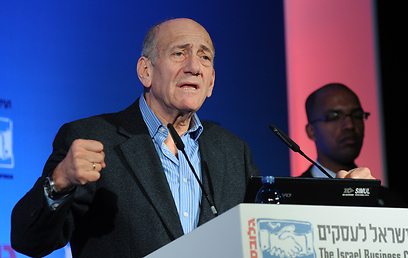 Returning to politics? Olmert (Photo: Yaron Brenner)