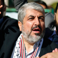 Khaled Mashaal Photo: Reuters