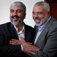 Mashaal and Haniyeh Photo: Reuters