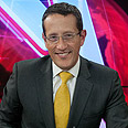 Richard Quest at Ynet studio Photo: Yaron Brener